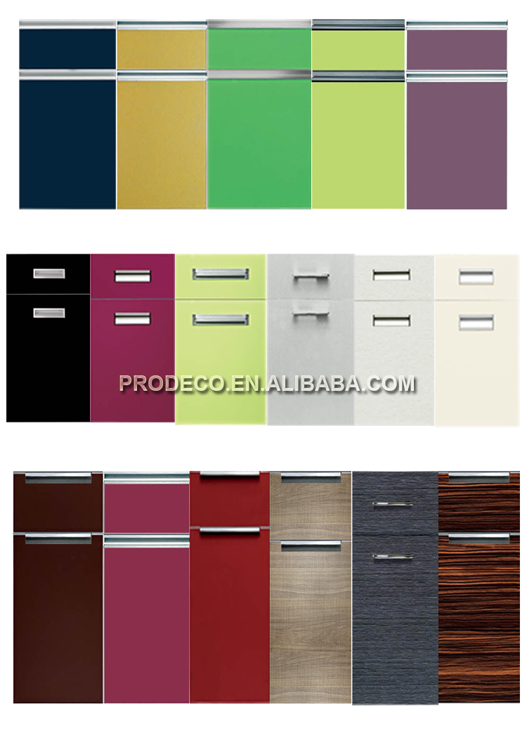China made unique lacquer kitchen cabinet
