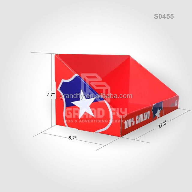 Custom Design Carton Cardboard Counter Display Box, CDU Display Boxes