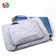 Factory Wholesale Price Fancy Wool Fabric Good Quality Handmade Felt Laptop Bag With handle