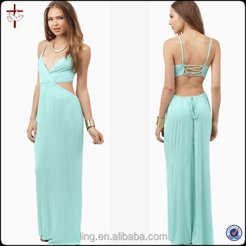 015f5cda4724 2015 Summer Fashion Pastel Mint Women New Design Maxi Dresses - Buy ...