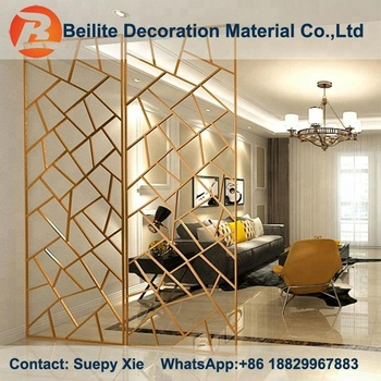 Custom Design Hall And Dining Room Partition