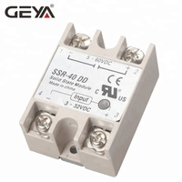 GEYA New Single Phase Solid State Relay SSR DC to DC 10A-100A Fotek Relay
