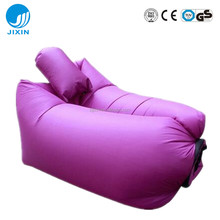 Air Sofa Outdoor Inflatable Lounger Hangout Compression Sleeping Bags Nylon Fabric with Carry Bags