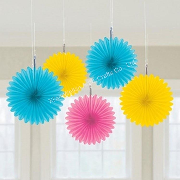 Paper Decorations Wall Hanging Paper Fan Buy Wall Hanging Paper