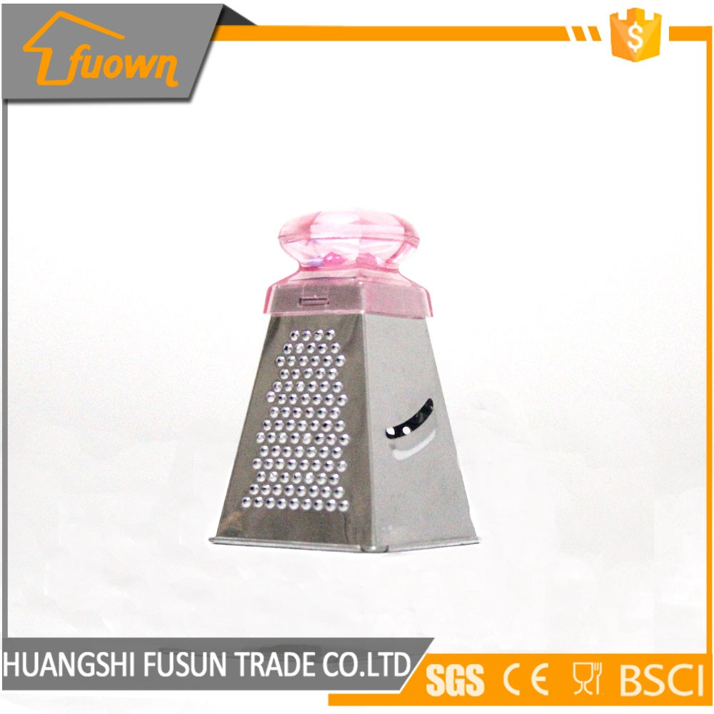 Mini cheese grater with 4 sides stainless steel kitchen utensils