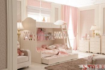 Etagenbett Mädchen : Umweltfreundliche malerei kinder mädchen etagenbett zwei