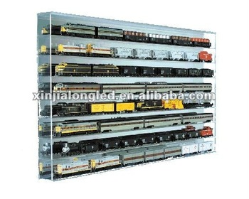shelves racks shelf scale trains g but with equally at smaller mind for mounted display in any unique wall suitable other level be to designed model train built a