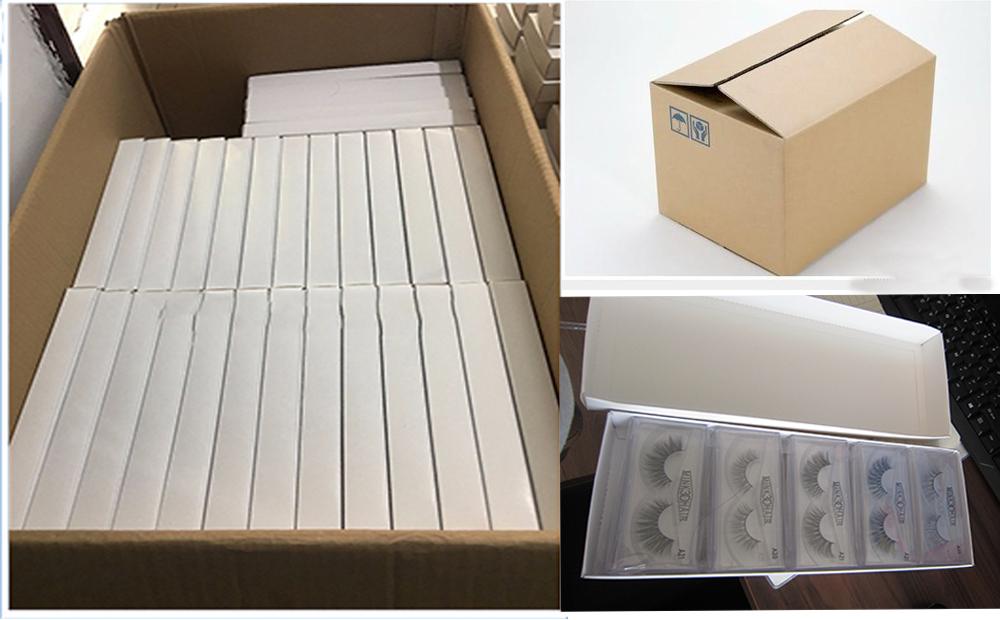 लक्जरी चुंबकीय कस्टम बरौनी बॉक्स के साथ निजी लोगो