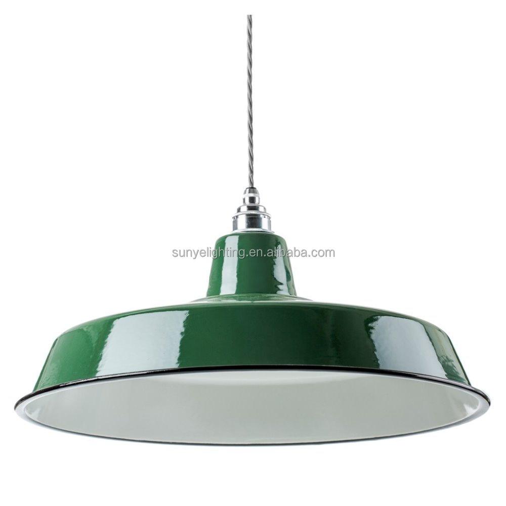 Lampadari moderni industriale dell'annata dello smalto lampada ...