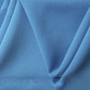 hot selling new products for kids blue knittedpolyester spandex blend fabric