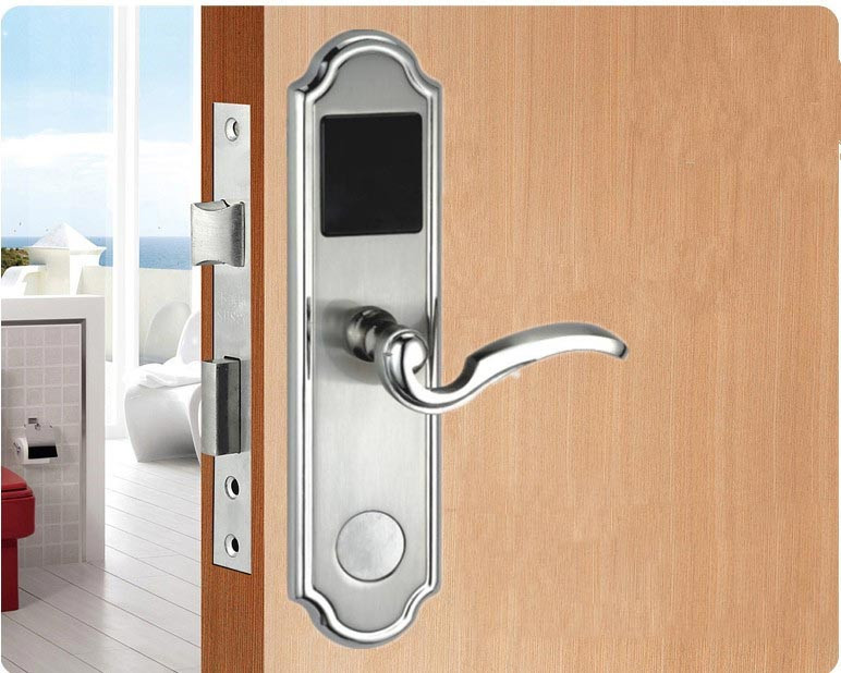 HF-LM801 Push Open Lock Smart Card Hotel Door Lock