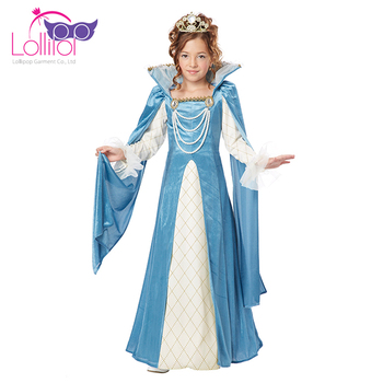 Factory direct supply cosplay queen renaissance festival dress costumes clothing outfits