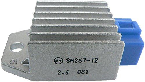 DB Electrical GHI6007 New Voltage Regulator for Yamaha G8 G9 G14 G16 G20 Golf Cart 91 92 93 94 95 96 97 98 99 00 01 02 03 04 05 06 07 08 09 10 11 12 13 SH267-12 435-041 JF2-81910-00-00 JF2-81910-01-00