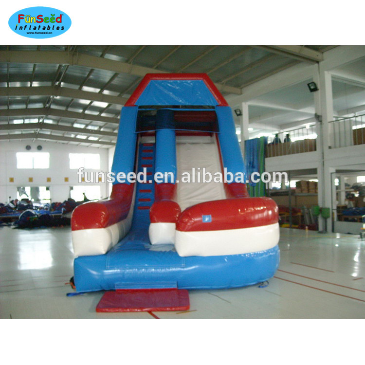 Best quality kids soft foam climbing inflatable water slide