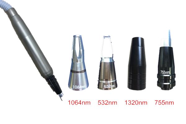 Taşınabilir lazer pikosaniye/lazer picosure 1320 1064 755 532 nm dövme kaldırma karbon soyma