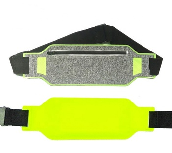 Outdoor sports waterproof mobile phone pockets running belt men and women invisible waist bag