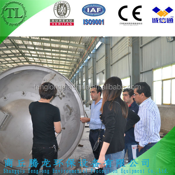 Tire Pyrolysis equipment To Oil