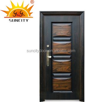 Egyptian Style Apartment Entry Door Steel Door Sc S026 Buy