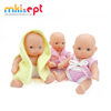 Wholesale mini baby born dolls cute vinyl baby dolls 2 inch for sale