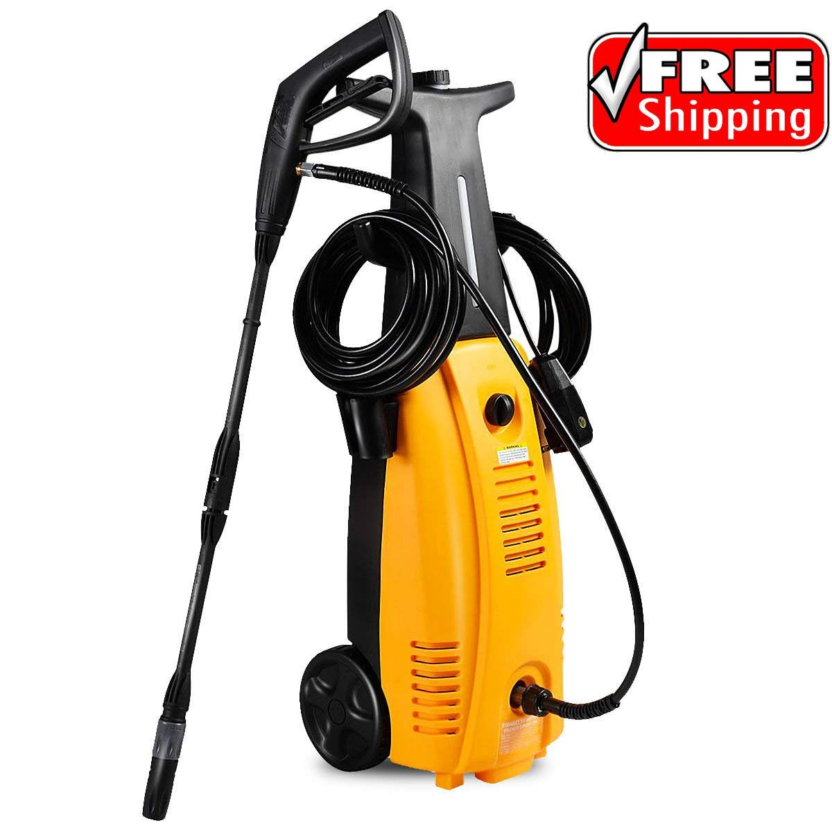 Okapi Washer Burst Sprayer Electric High Pressure Built Detergent HD Cleaning Car Sidewalk Deck