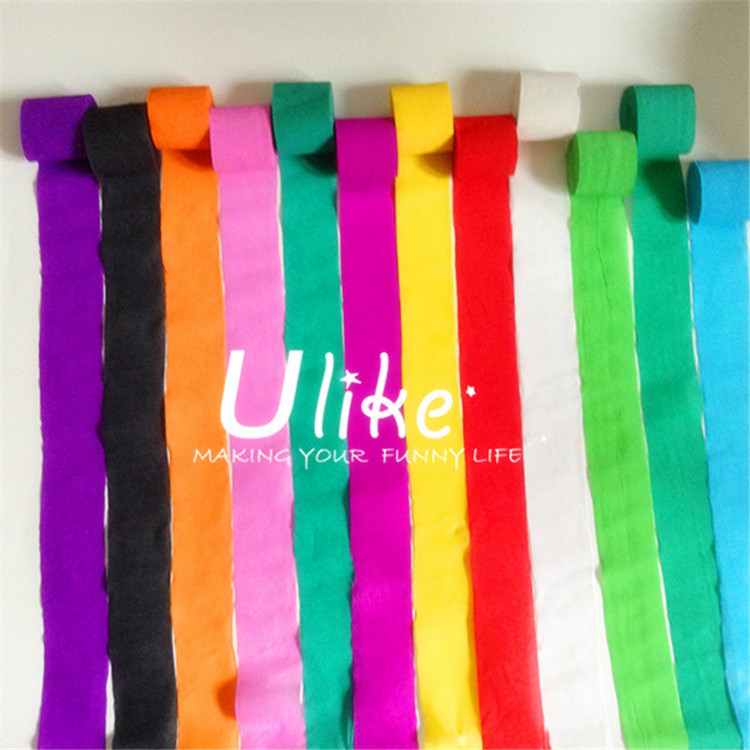 Crepe Paper For Decorate And Party Color Crepe Paper For Wedding