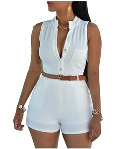 Sexy Summer Beach Women Romper Jumpsuit Shorts Sleeveless One Piece Short Pants Suit Womenycon Jualls Jumpsuit Party
