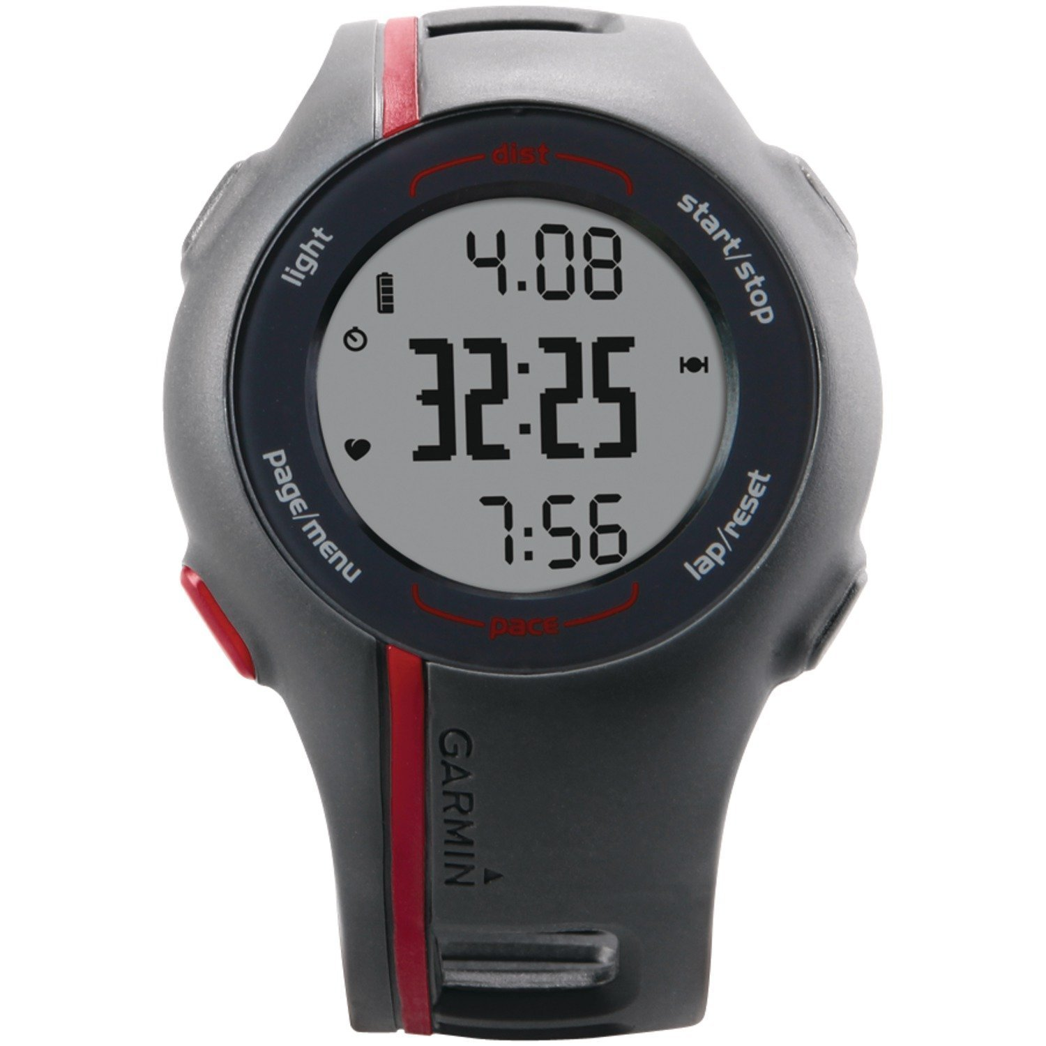 Garmin Forerunner 110 GPS-Enabled Sport Watch with Heart Rate Monitor - Red (Certified Refurbished)