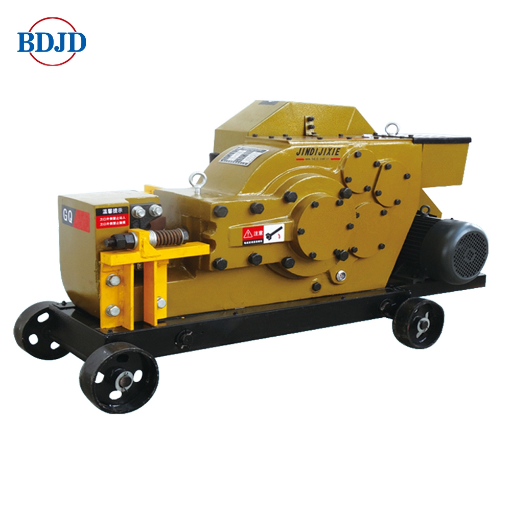 Electric rebar cutter manufacturer Iron rod cutting machine