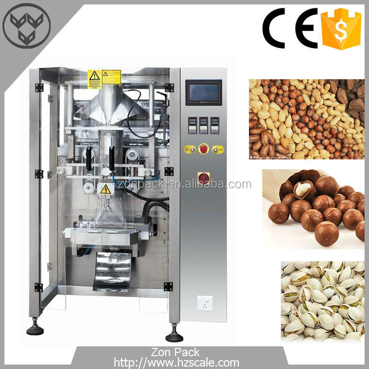 Full automatic Plastic Bag Pistachio Packing Machine