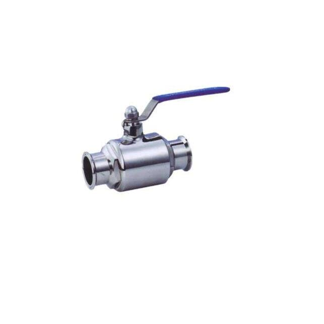 SS316L SS304 standard sanitary stainless steel direct way threaded ball <strong>valve</strong> made in china