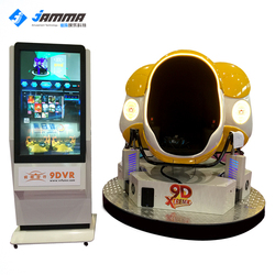 Amusement rides 9d cinema 9d virtual reality cinema simulator, truck mobile 9d cinema with 360 degree vr games for sale