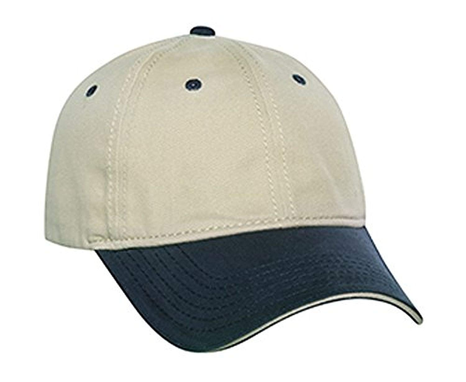 Hats & Caps Shop Superior Garment Washed Cn Twill Sandwich Visor Low Profile Pro Style Caps - By TheTargetBuys