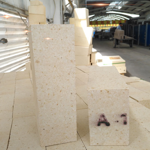 Low Iron Fe2O3 content high alumina firebrick for lime kiln