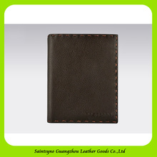 17353 Wholesale Fashionable Leather Passport Holder / case / organizer For Travelling with 1 passport slot & 5 card holders
