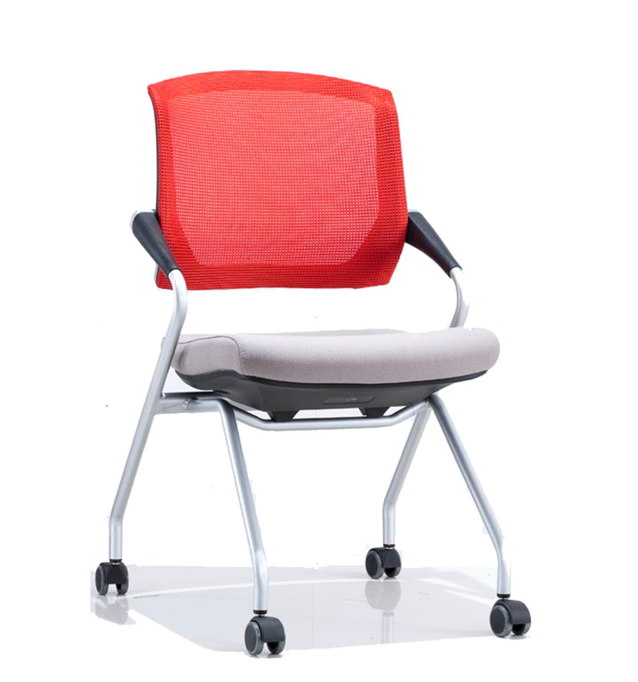Mesh Folding conference chair folding desk