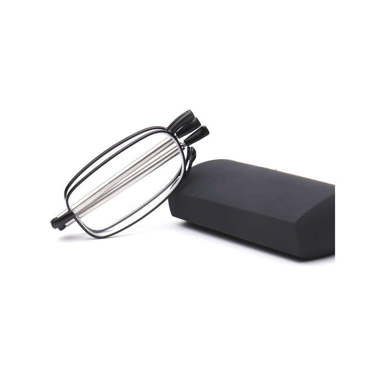 Hot Selling Original Design foldable reading glasses,durable metal mini folding reading glasses with compact case