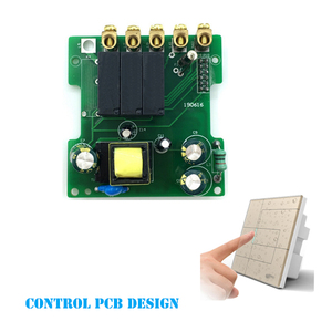 Smart home automation switch 12v touch switch wifi remote control switch board design