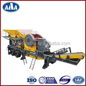 Truck Crusher, Wheeled Stone Crusher, Wheeled Crushing Machine, Mining, Highway, Constructions, Chemicals, Cement