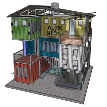 40 ft Shipping Container House Floor Plans