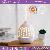 wholesale ceramic scent vase air humidifier bottle electric ultrasonic aroma essential oil diffuser