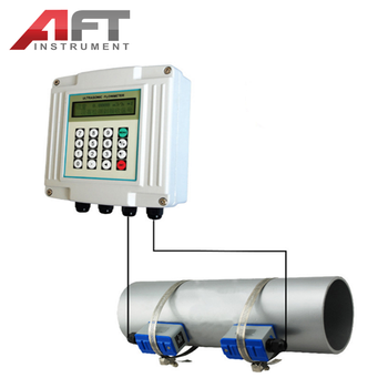 Insertion Type Wall mounted Ultrasonic Flow Meter measurement instruments