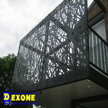 Aluminum Metal Carved Facade Panel As External Facade