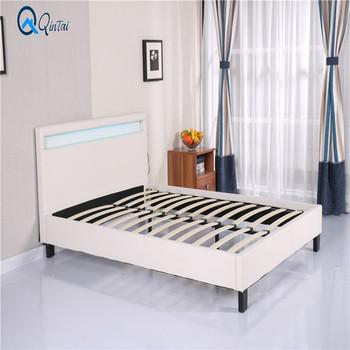 Free Sample Grey Hydraulic Pivot Leather Storage Bed Frame - Buy 6ft ...