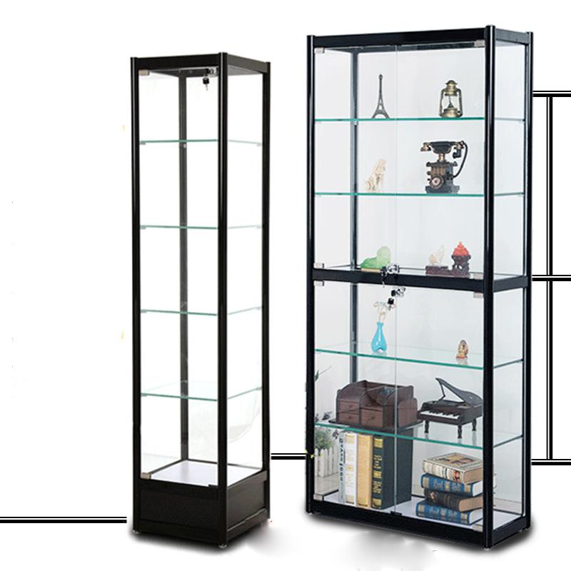 Living Room Glass Showcase Design Wood/simple Showcase ...