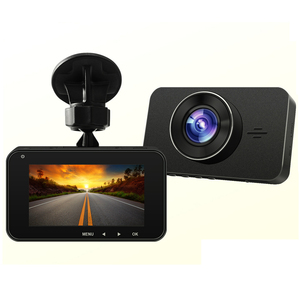 High quality GPS G-sensor ADAS double camera car 1080P/VGA dual camera car dvr