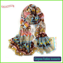 High quality 100% wool Russian wool shawl