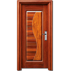 Golden supplier securing French steel wood interior doors factory made in china