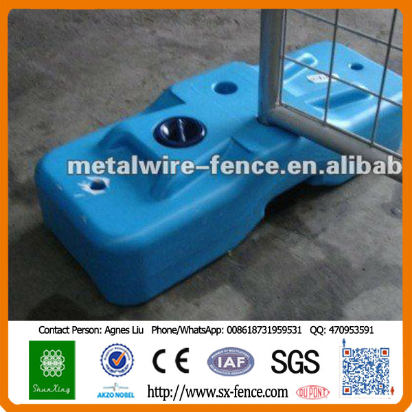 Hebei Factory New Style Plastic Temporary Fence Block