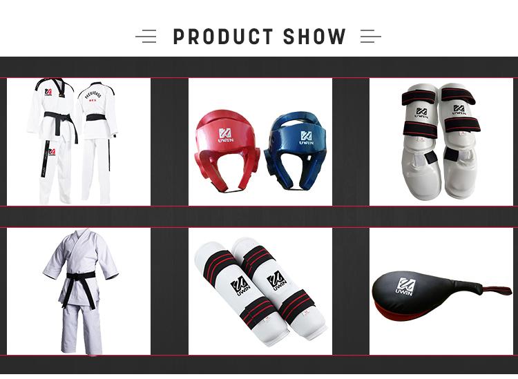 Customized White Hapkido Karate Uniforms