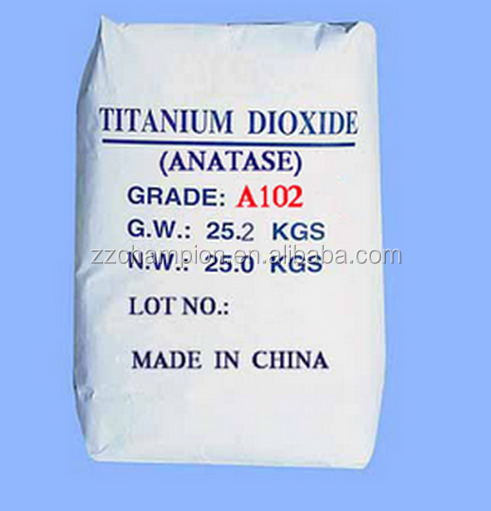 titanium dioxide rutile price with chamical pigment painting